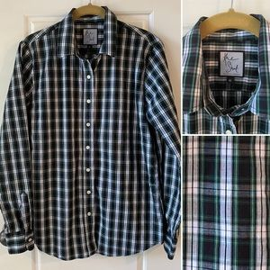 Tuckernuck The Icon Shirt in Stewart Plaid M
